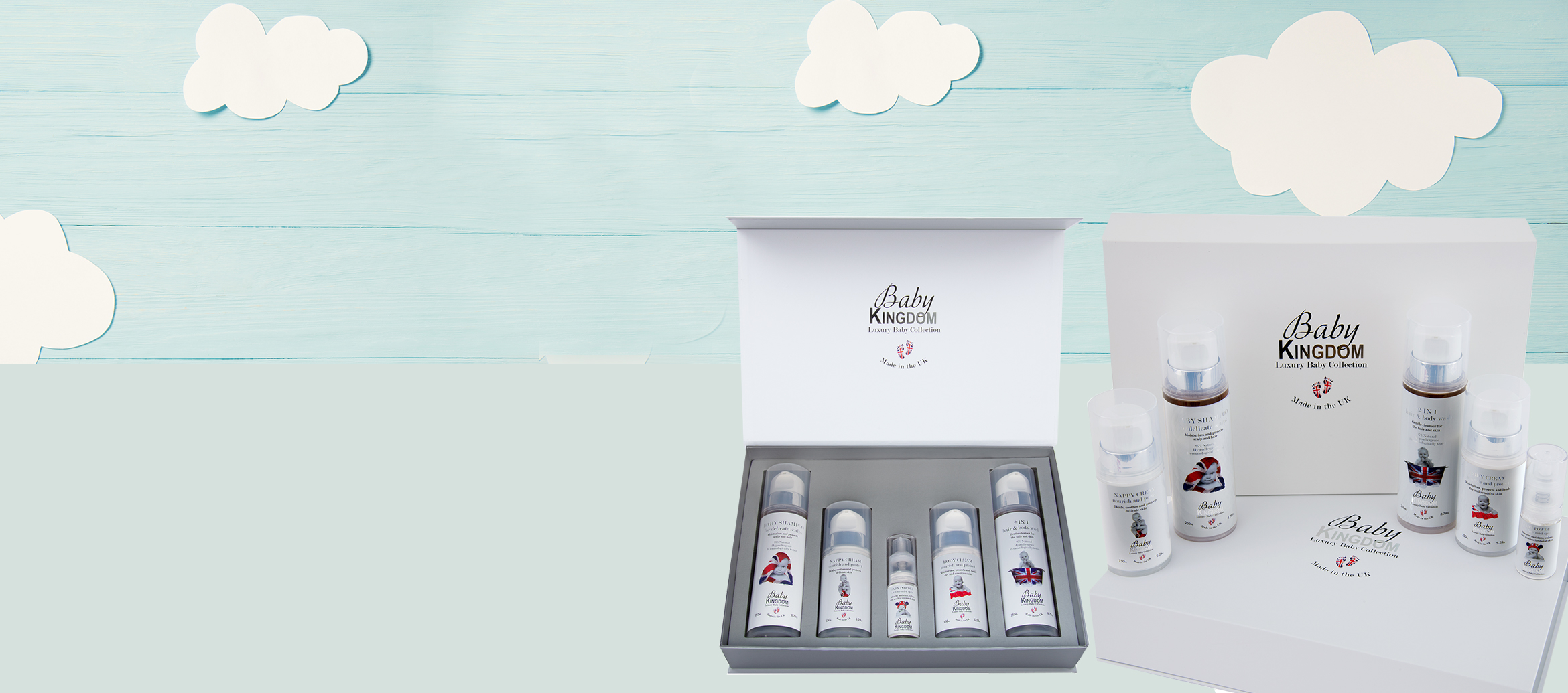 Luxury gift sets now available